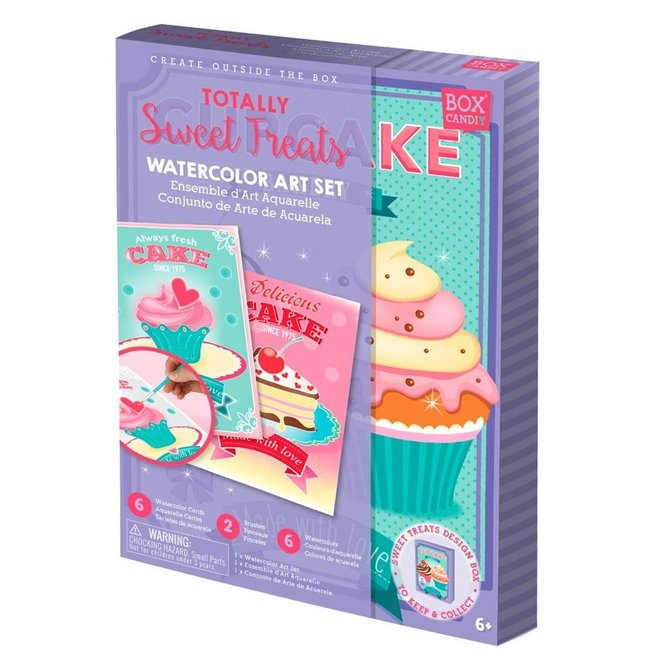 Box Candiy Box Candiy:  Sweet Treats Aquarelset