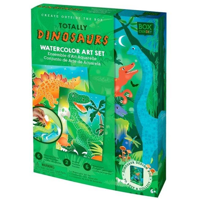 Box Candiy: Dinosaurus Aquarelset
