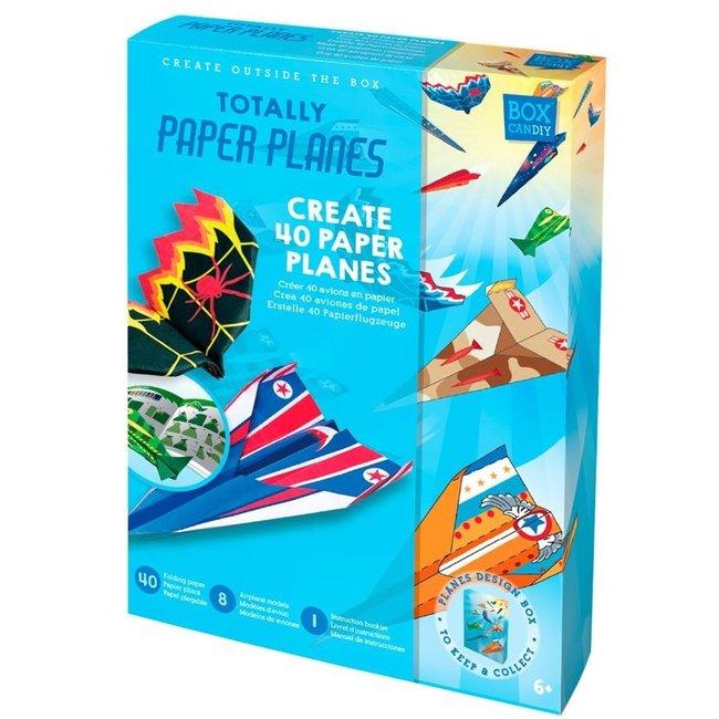 Box Candiy: Vliegtuigen vouw set