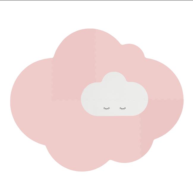 Quut Speelmat Head in the clouds L Blush Roze
