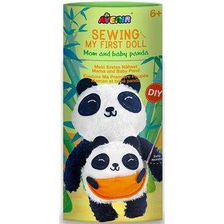 Avenir Knutselset Mijn eerst popje maken - Panda