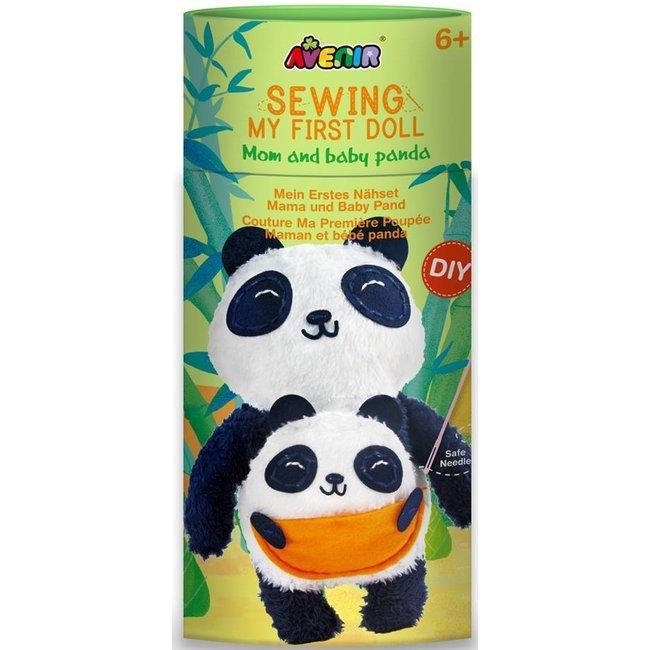 Knutselset Mijn eerst popje maken - Panda