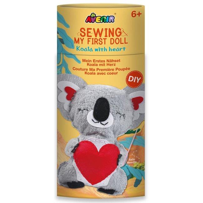 Knutselset Mijn eerst popje maken - Koala