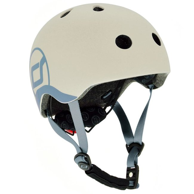 Fiets & Skate Helm Ash | Scoot and Ride XS-S (45-51cm)