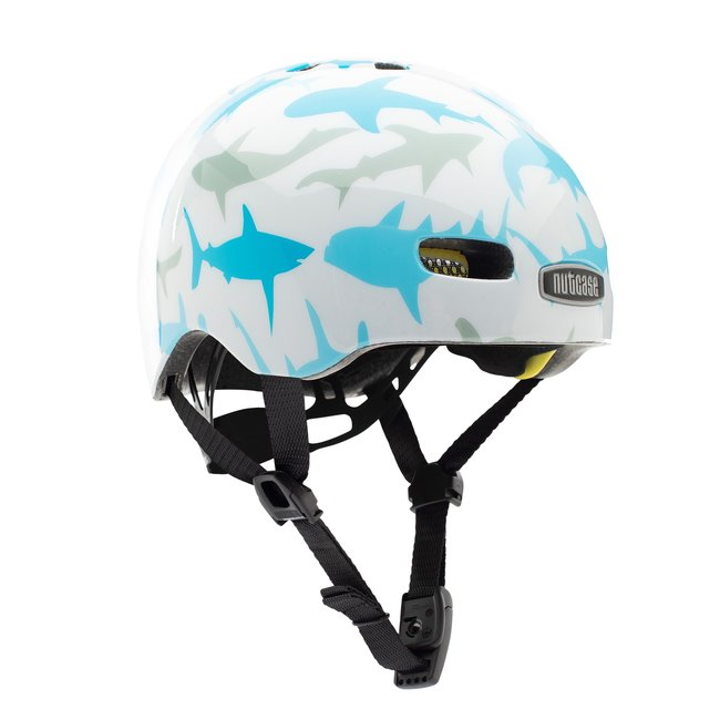 Baby Nutty Baby Shark Gloss MIPS Helm XXS