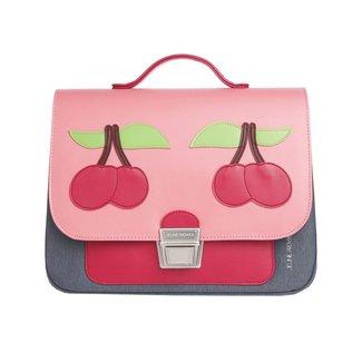 Jeune Premier Jeune Premier Kleuterboekentas Mini Cherry Pink