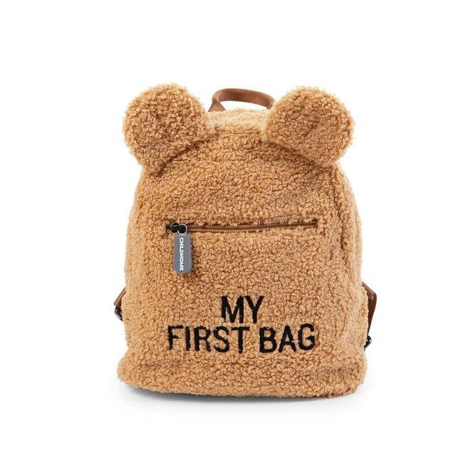Kids My first bag - Rugzakje Teddy Beige   Childhome