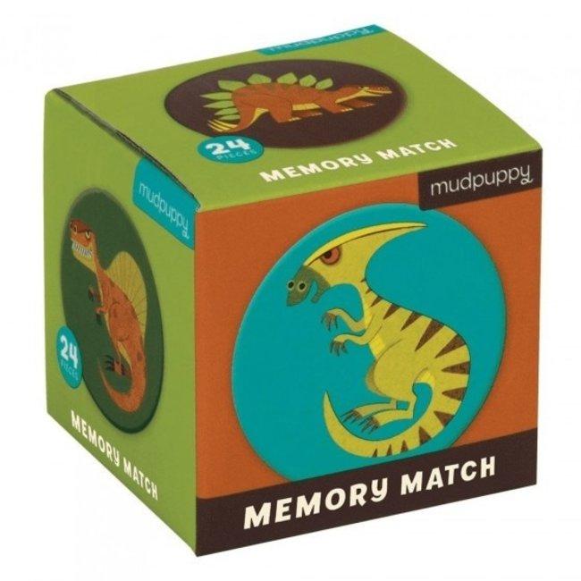 Mudpuppy |  Mini Memory Spel  - Mighty Dinosaurs