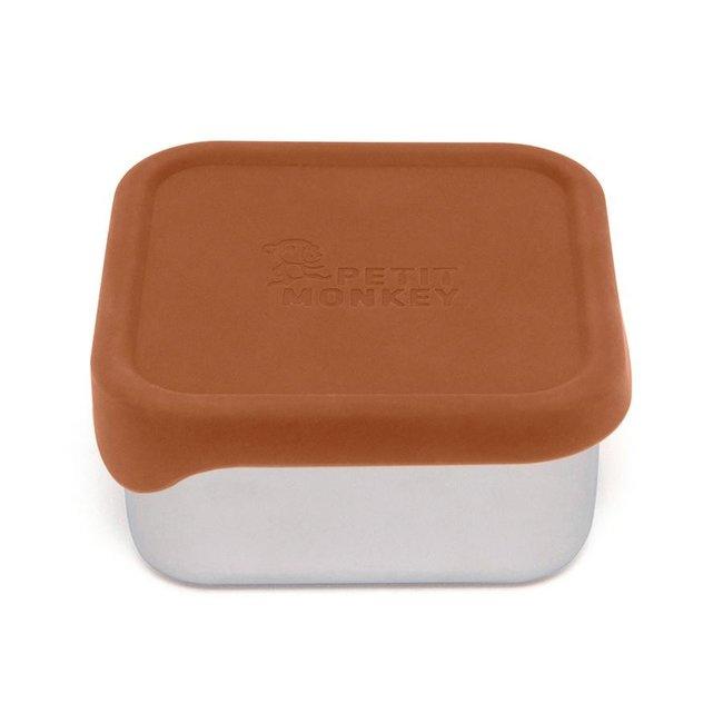 Petit Monkey Lunchbox RVS Mae Baked Clay
