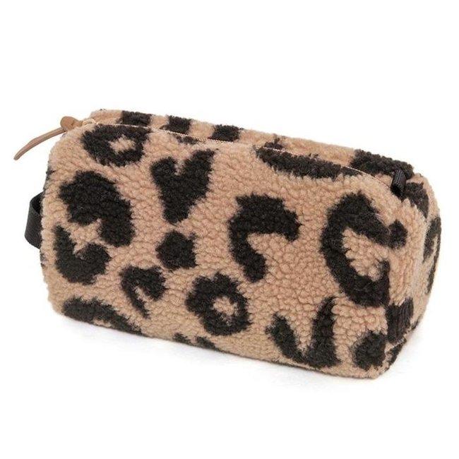 Petit Monkey Pennenzak/ Toilettas Teddy Leopard