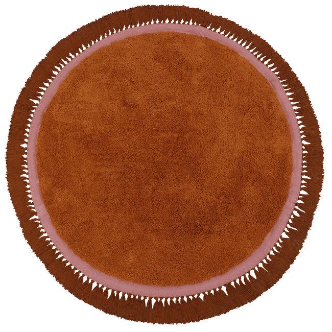 Tapis Petit Vloerkleed Lily Rust 110x110cm - Tapis Petit