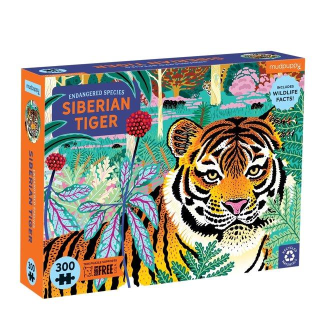 Mudpuppy Mudpuppy Puzzel Siberian Tiger - 300 stukken