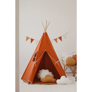 Moi Mili Tipi tent Classic - Red Fox