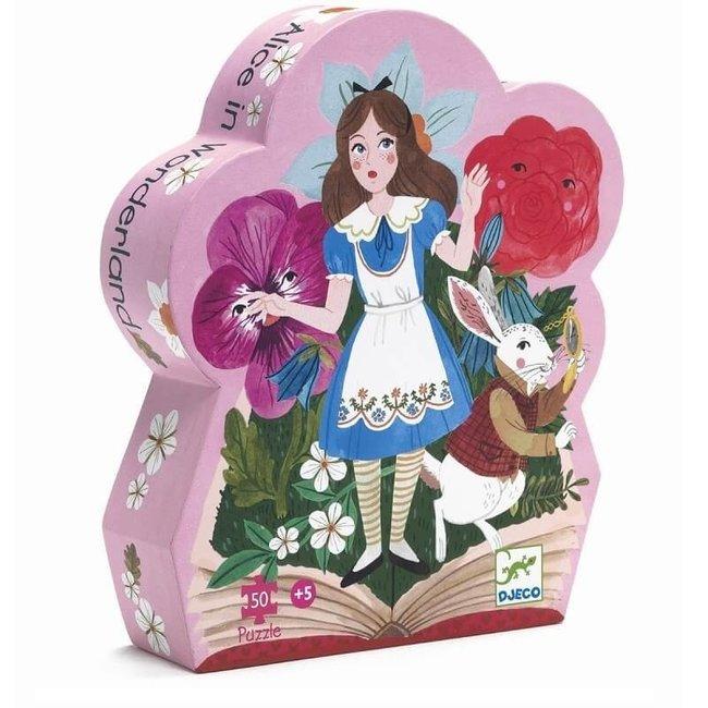 Puzzel Alice in Wonderland 50 pcs | Djeco