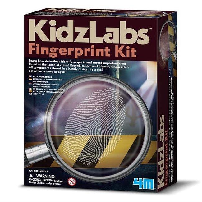4M KidzLabs Vingerafdrukken Set