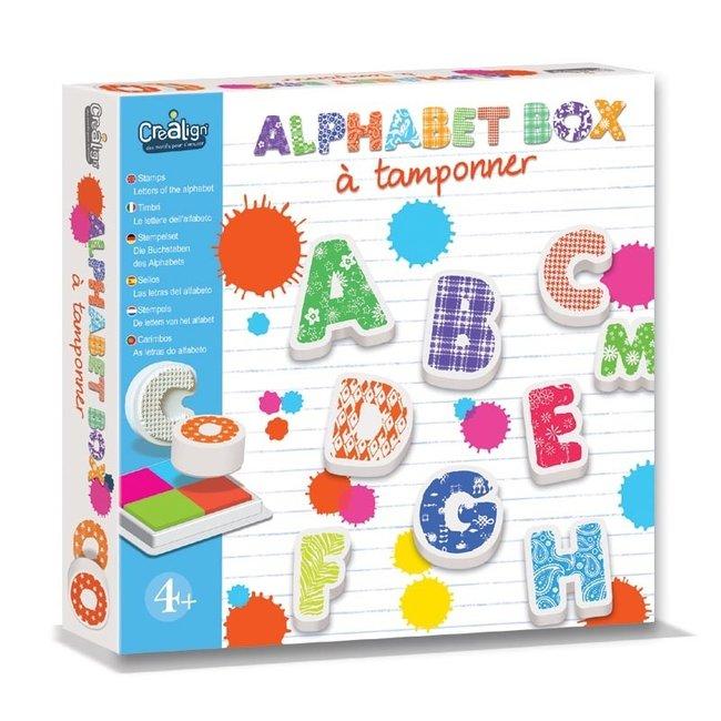 Crea Lign Stempelset - Alphabet