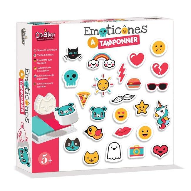 Crea Lign Stempelset - Emoji's