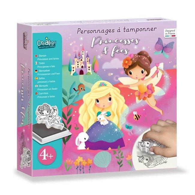Crea Lign Stempelset - Prinsessen & Feeën