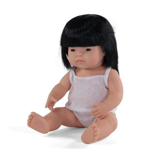 Miniland Pop Aziatisch meisje 38 cm