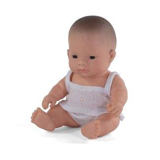 Miniland Miniland Babypop Aziatisch meisje 21 cm