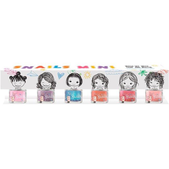 Snails Mini 6-pack Kindernagellak