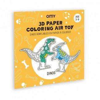 OMY OMY Inkleurbare 3D speelfiguren