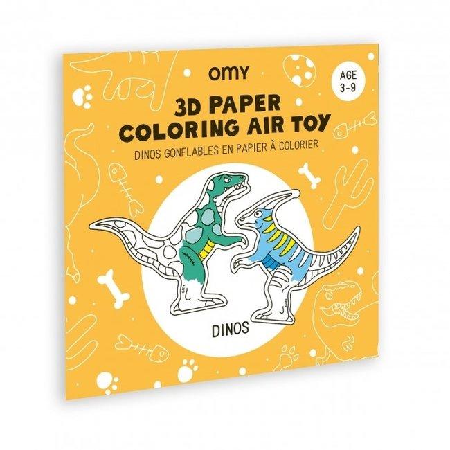 OMY Inkleurbare 3D speelfiguren