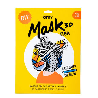 OMY OMY 3D Masker - Tijger Tiga