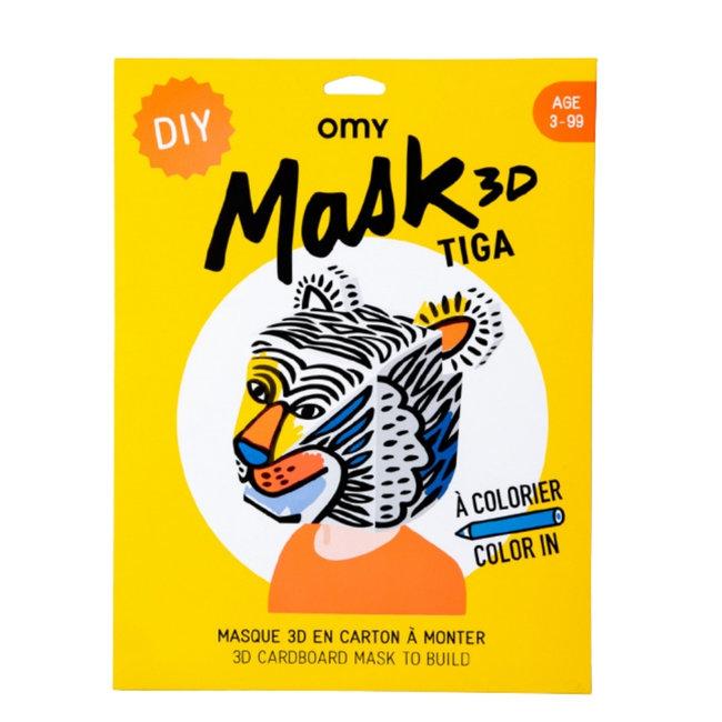 OMY 3D Masker - Tijger Tiga