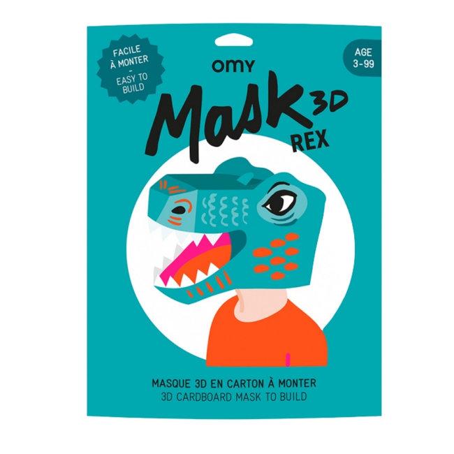 OMY 3D Masker - Dino Rex