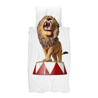 Snurk Snurk Dekbedovertrek Lion Circus Eenpersoonsbed 140 x 220/220cm
