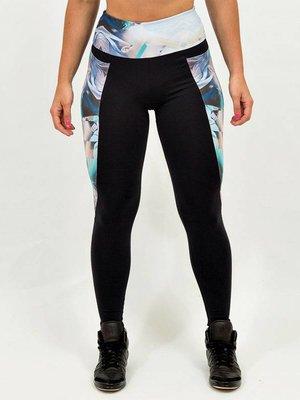 GraffitiBeasts Women's sports leggings with exuberant graffiti print from Graffiti artist TELMO & MIEL