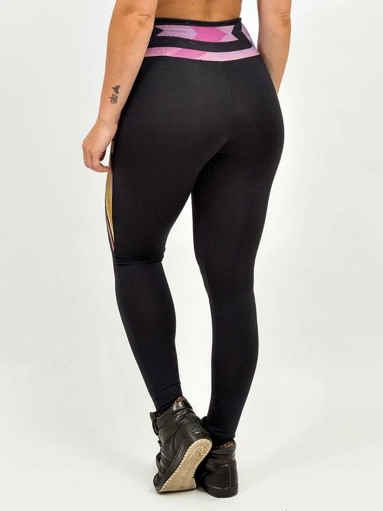 GraffitiBeasts Trun - Women Inverse Sportlegging with Graffiti Design