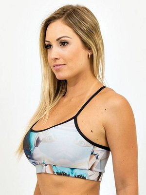 GraffitiBeasts Telmo & Miel - Ladies top for the sports model Leopard