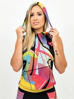 GraffitiBeasts Trun - Dames hoodie voorzien van prachtig graffiti ontwerp van