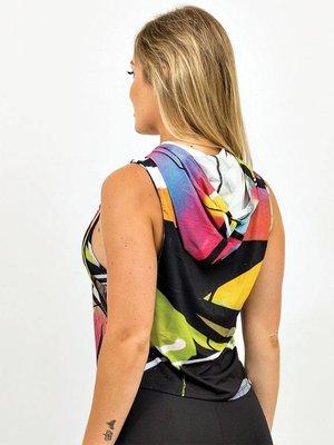 GraffitiBeasts Dames hoodie voorzien van prachtig graffiti ontwerp van TRUN