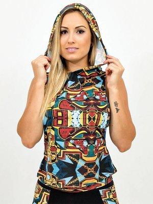 GraffitiBeasts Ladies Ladies hoodie with print  PARIZ ONE