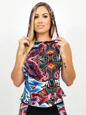 GraffitiBeasts Katre - Ladies Ladies hoodie with print