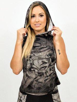 GraffitiBeasts Dames hoodie in de stijl van de graffiti kunstwerken van MR.WANY