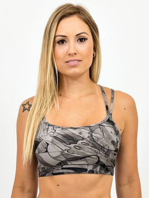 GraffitiBeasts Dames Sport Spidertop met opdruk