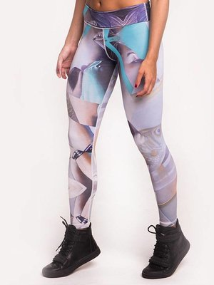 GraffitiBeasts Telmo & Miel - Damen sportlegging classic