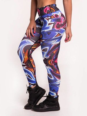 GraffitiBeasts Classic ladies sports legging with print