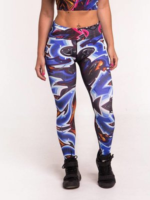 GraffitiBeasts Katre - Ladies' Sportlegging in the Classic version with graffiti print