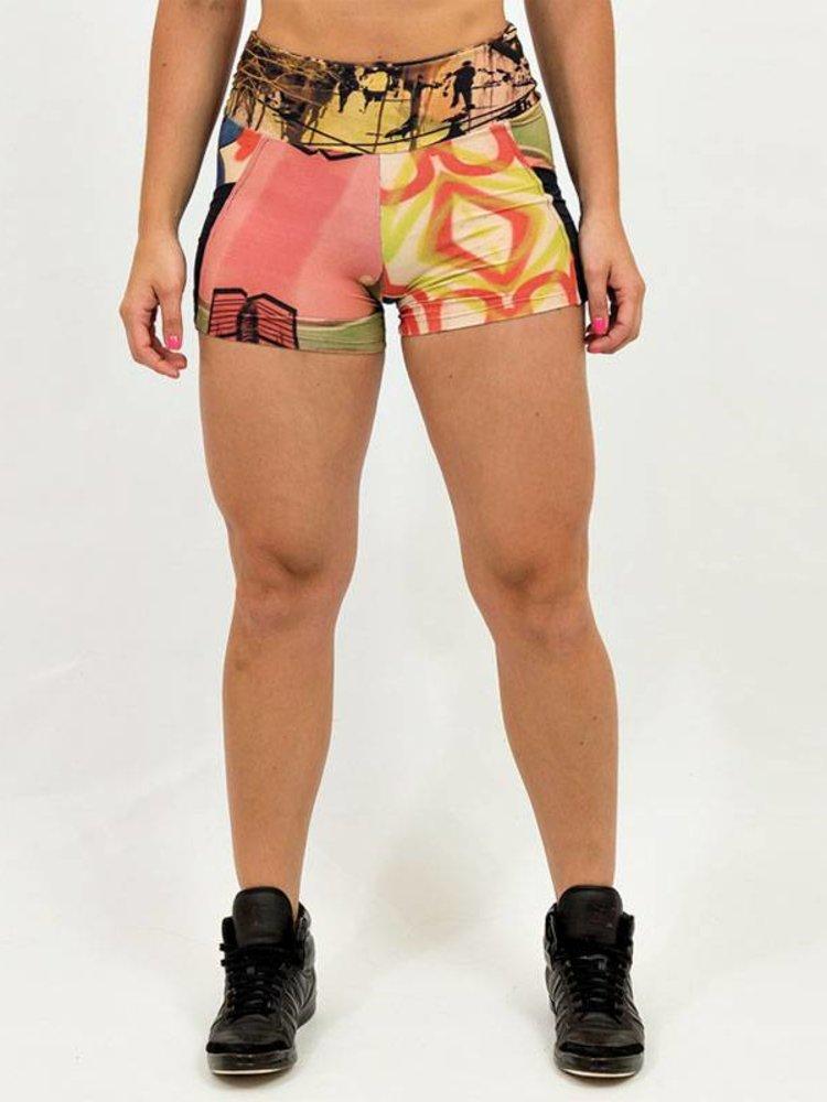 GraffitiBeasts Ski - Dames shorts met een speciaal graffiti ontwerp