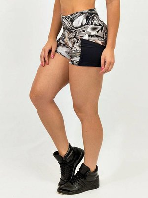 GraffitiBeasts Ladies shorts with print COSTWO