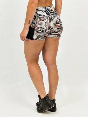 GraffitiBeasts Ladies shorts with striking Graffiti-print and handy pockets