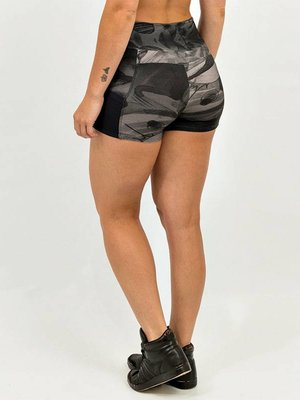 GraffitiBeasts Mr. Wany - Ladies shorts with striking Graffiti-print