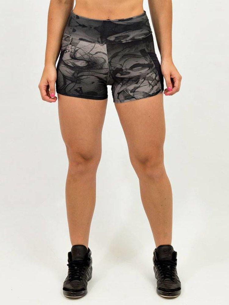 GraffitiBeasts Dames shorts ontworpen door de graffiti kunstenaar MR.WANY