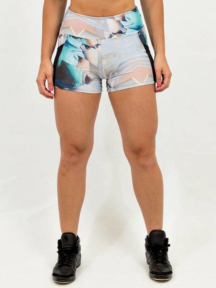 GraffitiBeasts Dames shorts ontworpen door het bekende graffiti duo TELMO & MIEL