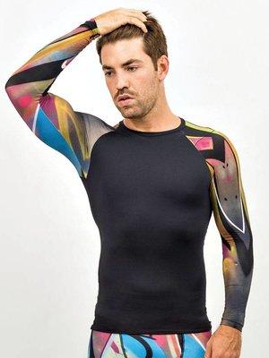 GraffitiBeasts Trun - Men's sport sleeve with graffiti print